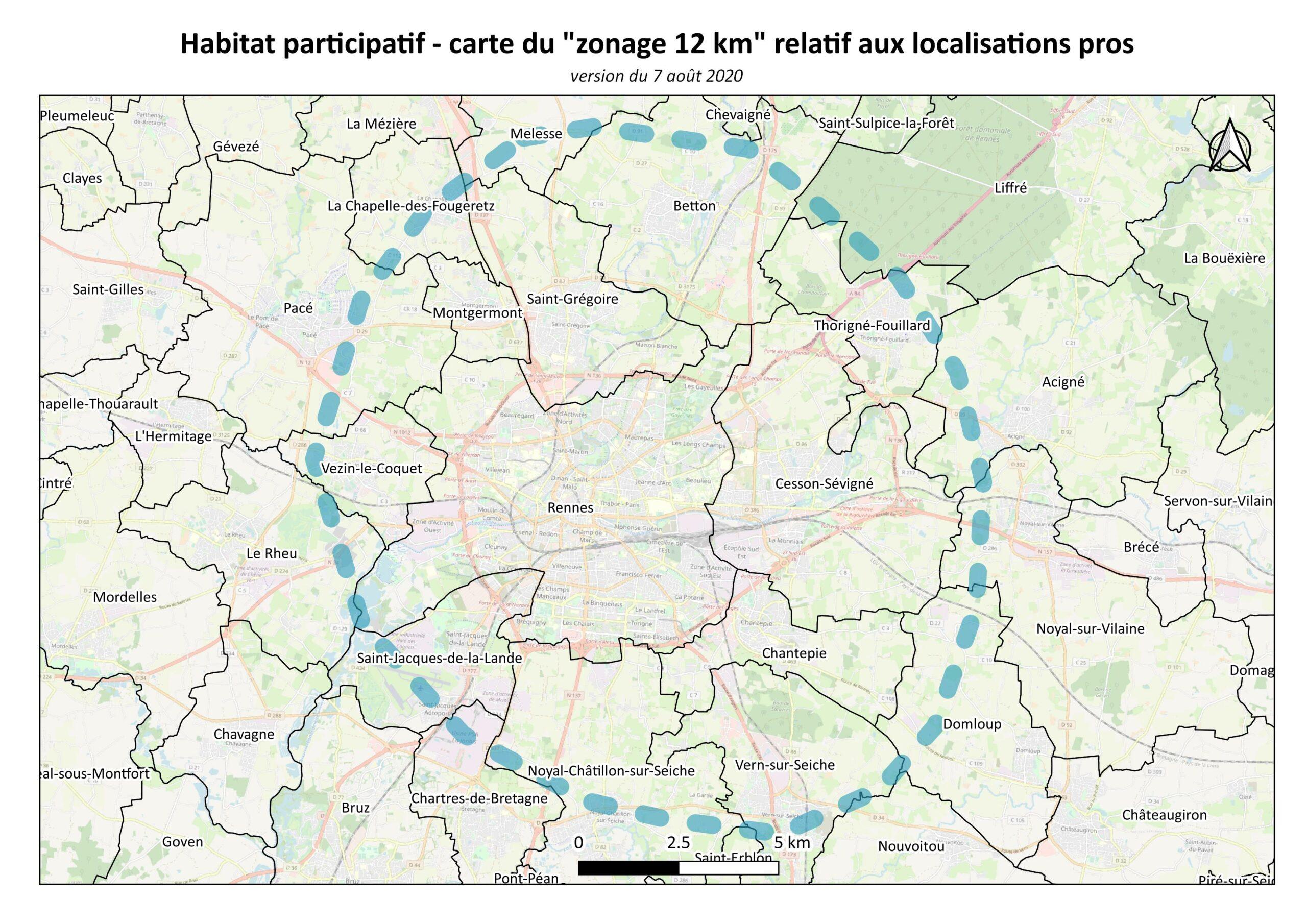 Zone Géographique du projet